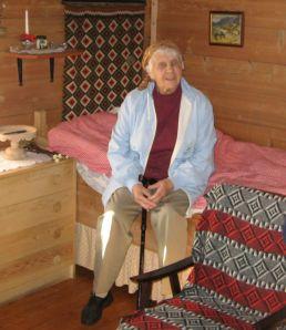Brita Fadnes: Født 24.03.1918. Sovnet stille inn 23.02.2013.